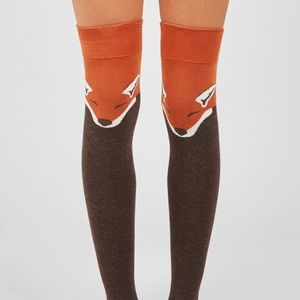 """Accessories - """"Foxy"""" Over-the-knee Socks"""